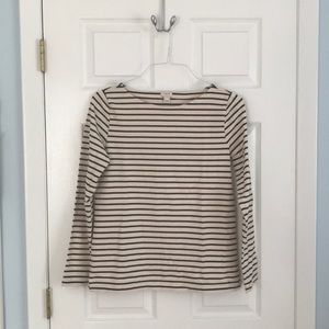 JCREW striped long sleeve